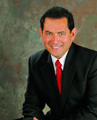 Lt. Governor John Sanchez Stands with Hull for Mayor