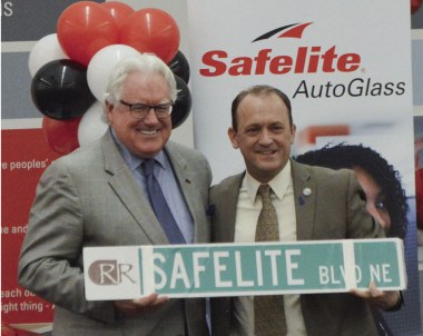 Signs and hopes are up at Safelite